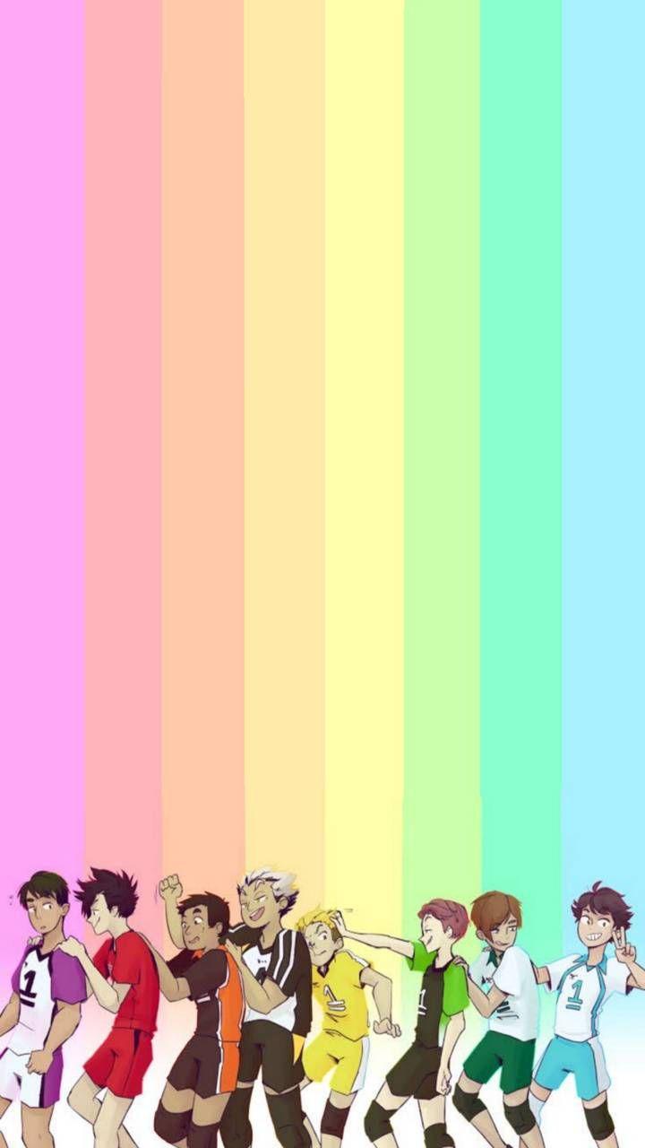 All Team Captains Wallpaper By Bloodandbonxs 1b Free On Zedge Haikyuu Wallpaper Haikyuu Chibi Wallpaper Free chibi anime wallpaper