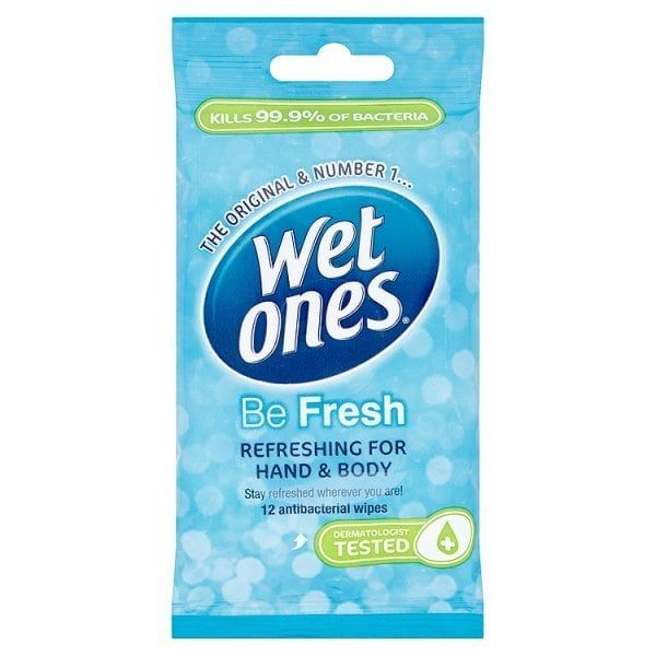 Wet Ones Cooling Wipes 12 Pack Kit Packing The Originals