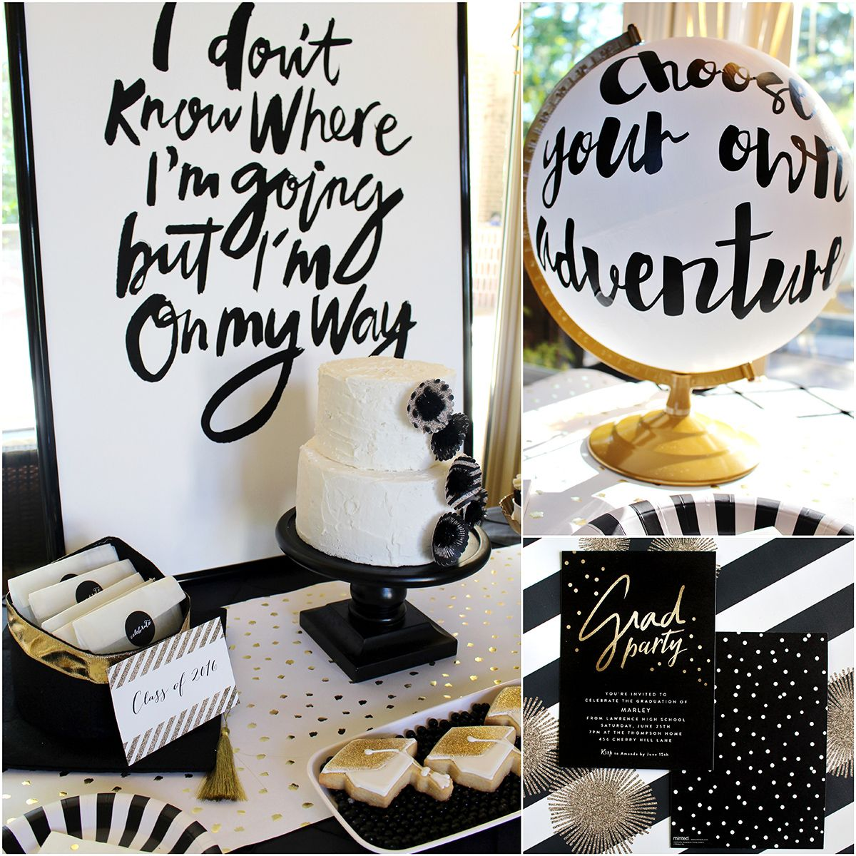 Graduation Party Ideas: Pin By Janet Ridings On Graduation Open House