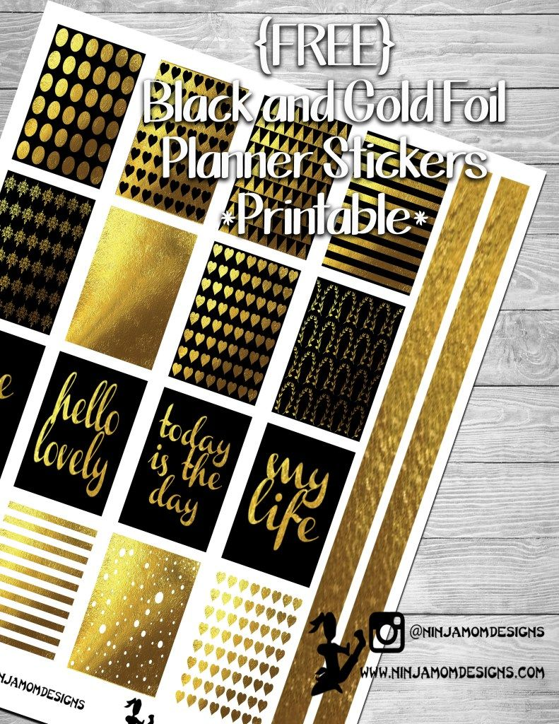 Free black and gold cover
