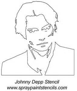 """Résultat de recherche d'images pour """"stencil johnny depp"""""""