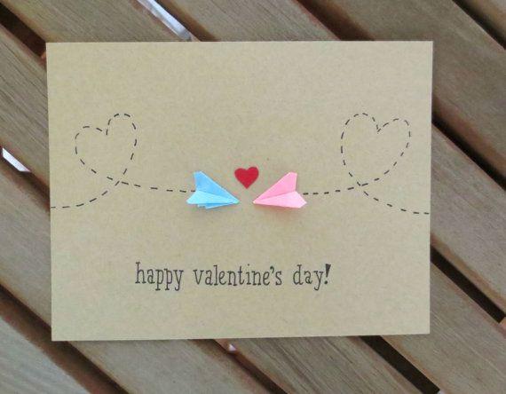 Long distance valentine valentine card valentines day card cute long distance valentine valentines card valentines day card paper airplane valentine cute valentine plane valentine handmade solutioingenieria Gallery