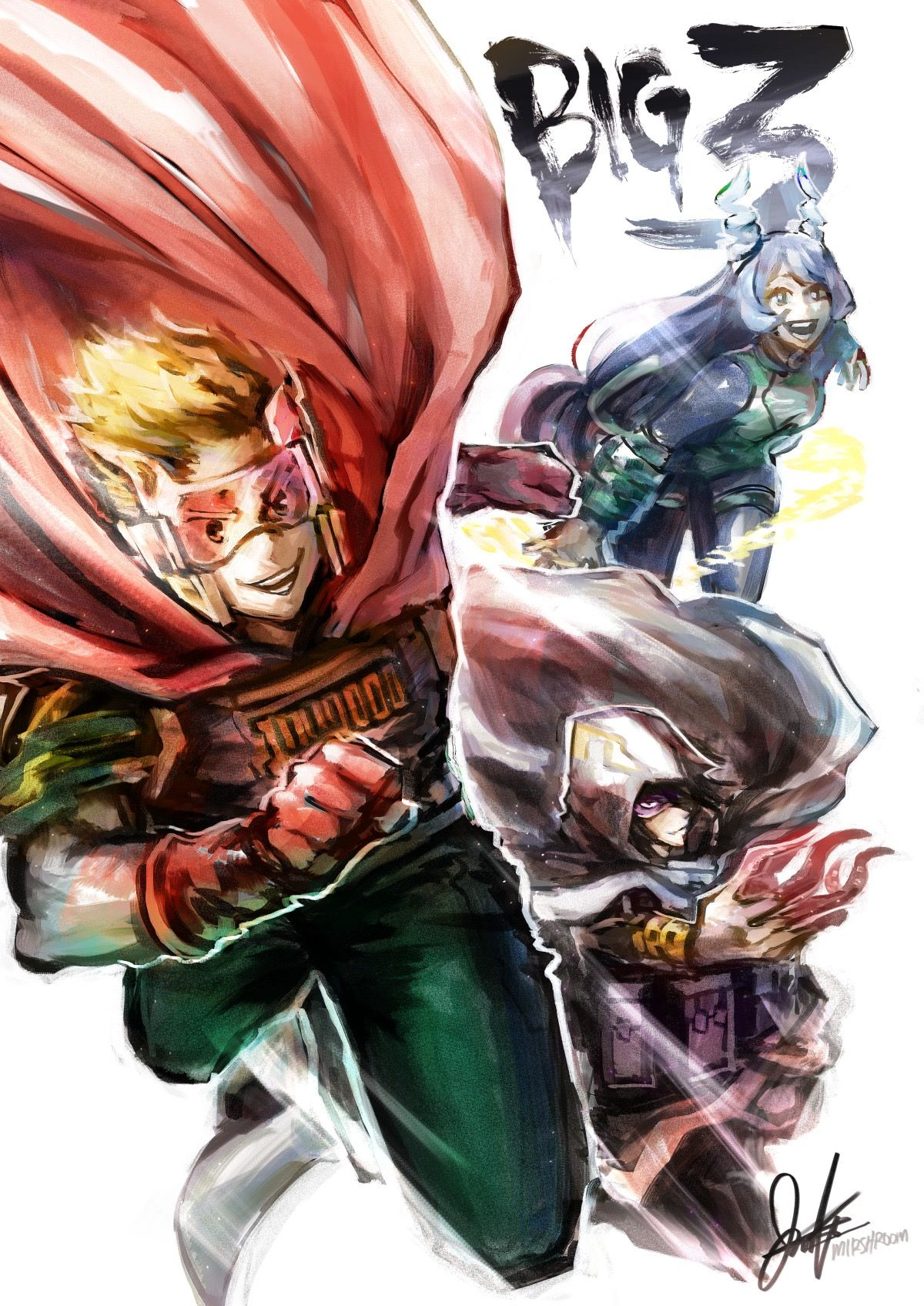 The Big 3 My Hero Academia Boku No Hero Academia My Hero