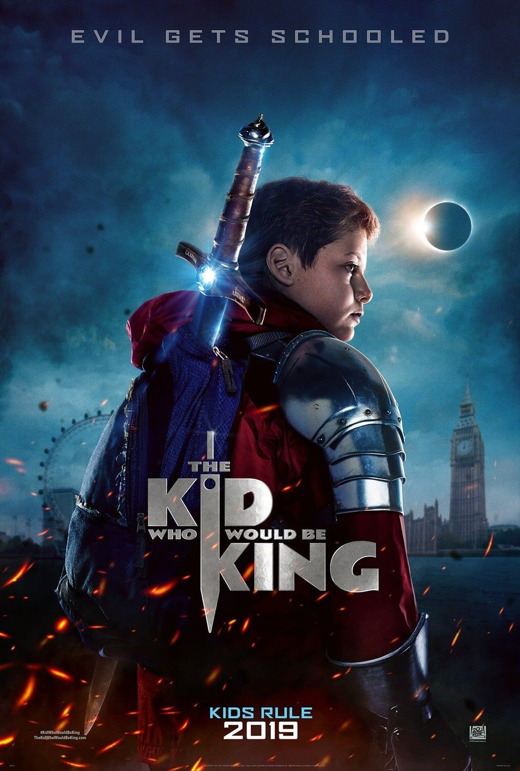 Watch The Kid Who Would Be King FULL MOVIE HD1080p Sub