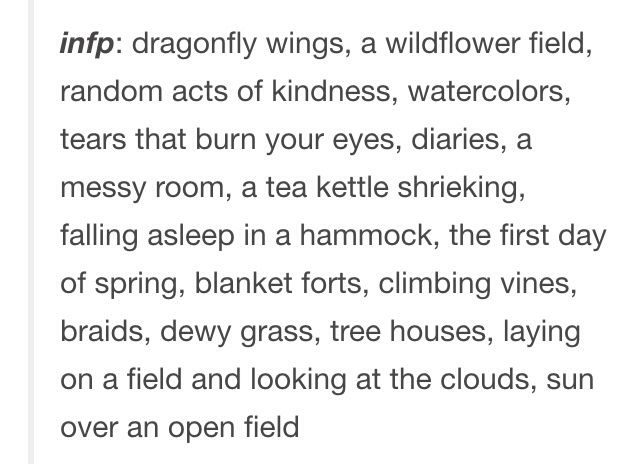 15 Signs You're An INFP
