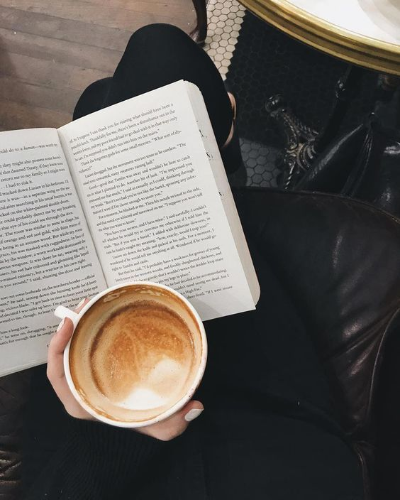 At Pretty Page Turner there's nothing better than a book in one hand and a steaming espresso, latte or coffee in the other. We love a coffee aesthetic staged for beautiful coffee photography. #coffee #booksandcoffee #booklover #goodcoffee