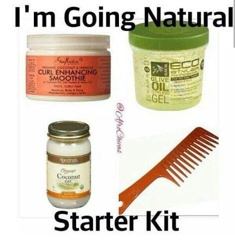Natural Hair Starter Kit