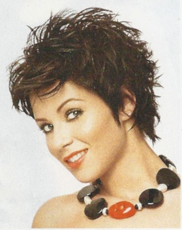 Cute Short Sassy Shag Haircut Pictures Styled Two Ways Design