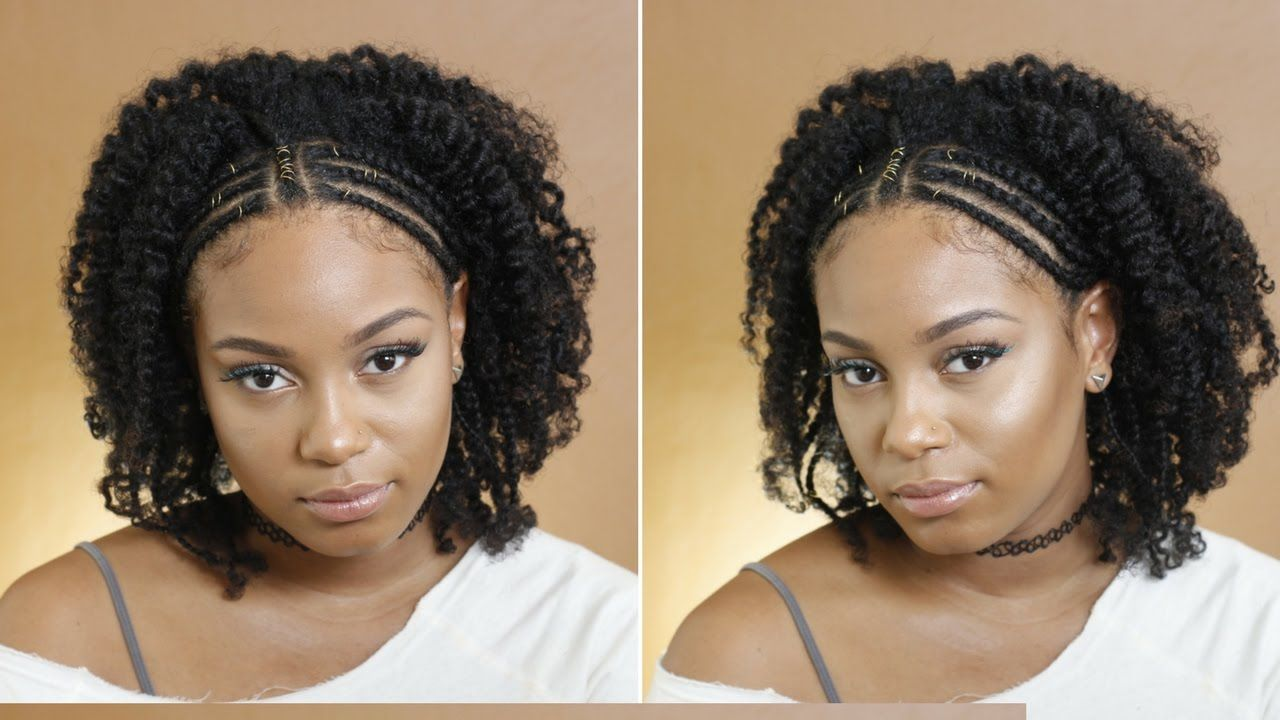 Quick Hairstyle On Natural Hair Braid Out Chantaylainey Chantaylainey Natural Hair Styles Natural Hair Braids Hair Styles