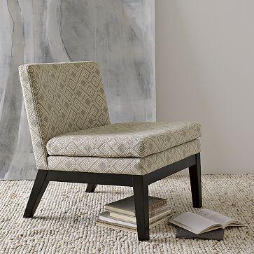 Upholstered Slipper Chair on westelm.com
