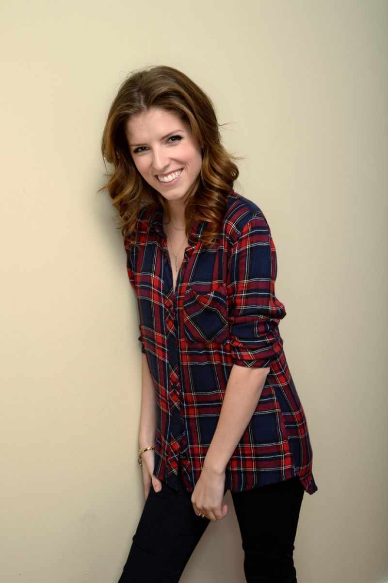 "Anna Kendrick Photoshoot - ""Happy Christmas"" Portraits 2014 Sundance Film Festival"