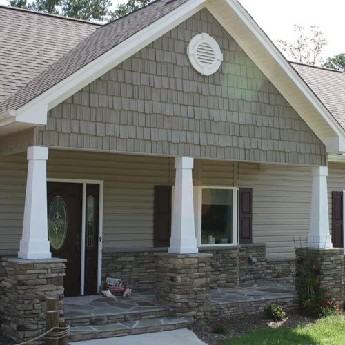 Pin By Heather Couillard On Stacked Stone Exterior Accents