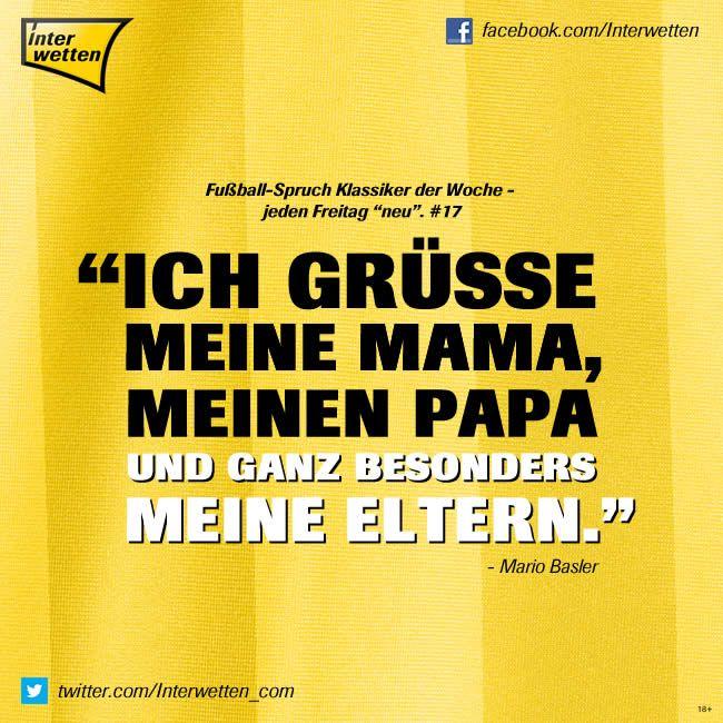 """fußball-spruch klassiker der woche - jeden freitag """"neu"""". #59"""