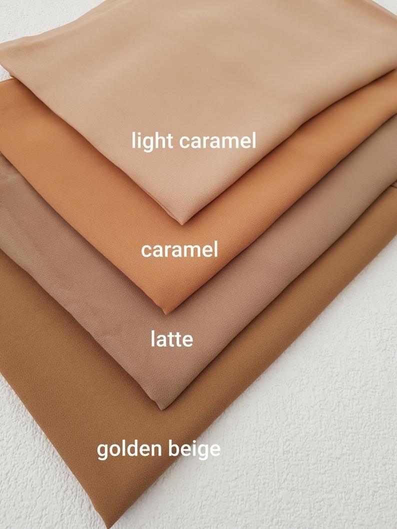 Photo of Chiffon Scarf Hijab Soft Premium Quality Sarong Shawl Maxi Plain Wrap Georgette
