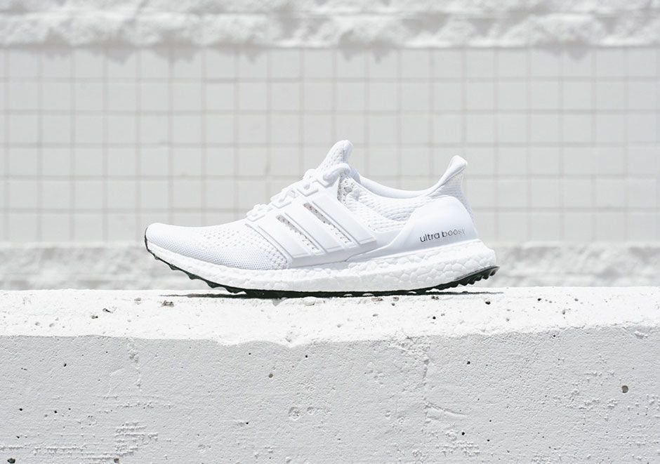 7c24a07cb ... france a closer look at the adidas ultra boost white white take a  moment to scrutinize