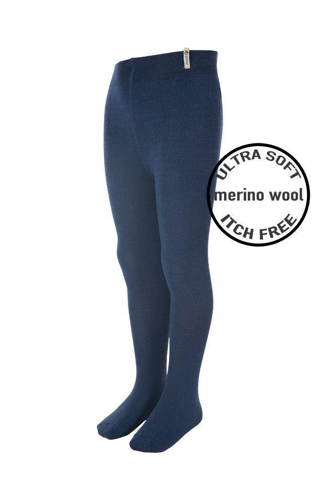 4902c891a5195 Janus Merino Wool Infant Tights: Navy | Shop Biddle and Bop | Wool ...