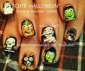 Photo of halloween tutorial!  Nail Art Gallery by NAILS Magazine