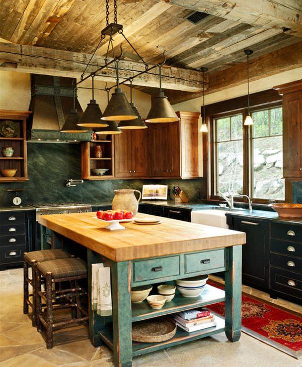 bucatarii rustice 20 Kitchen Pinterest - küche aus europaletten