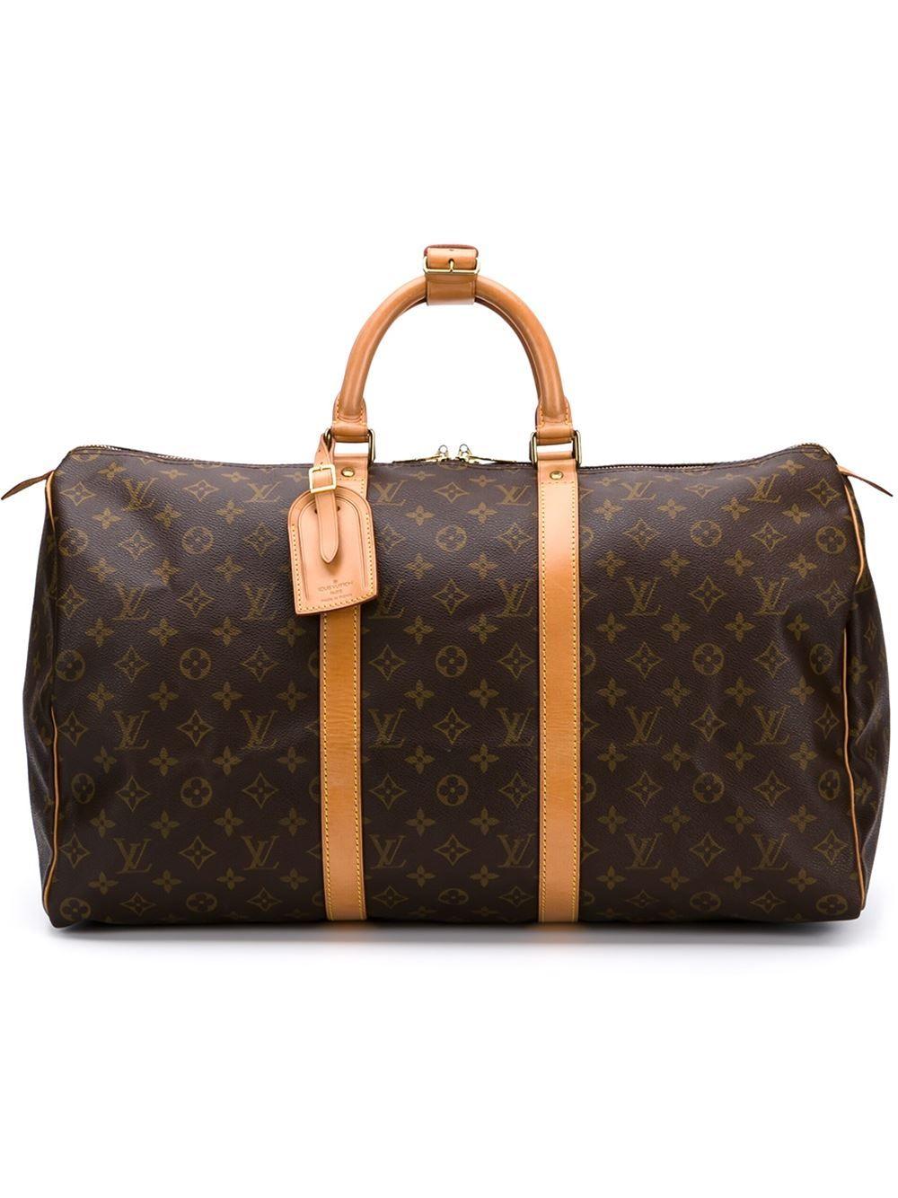 Louis Vuitton Vintage Keepall Bag 50cm Louis Vuitton Holdall Louis Vuitton Louis Vuitton Handbags