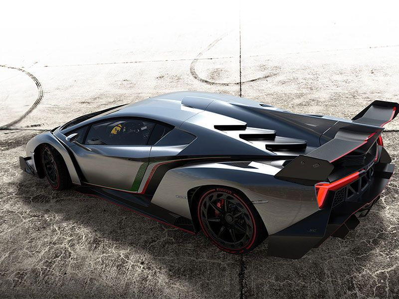 Lamborghini Veneno Allows You To Enjoy Driving At A High Speed - Cool cars and prices