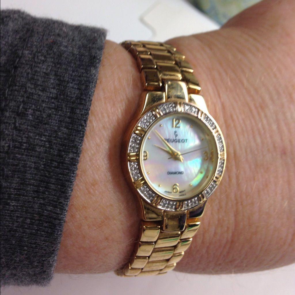 Peugeot Diamond Watch