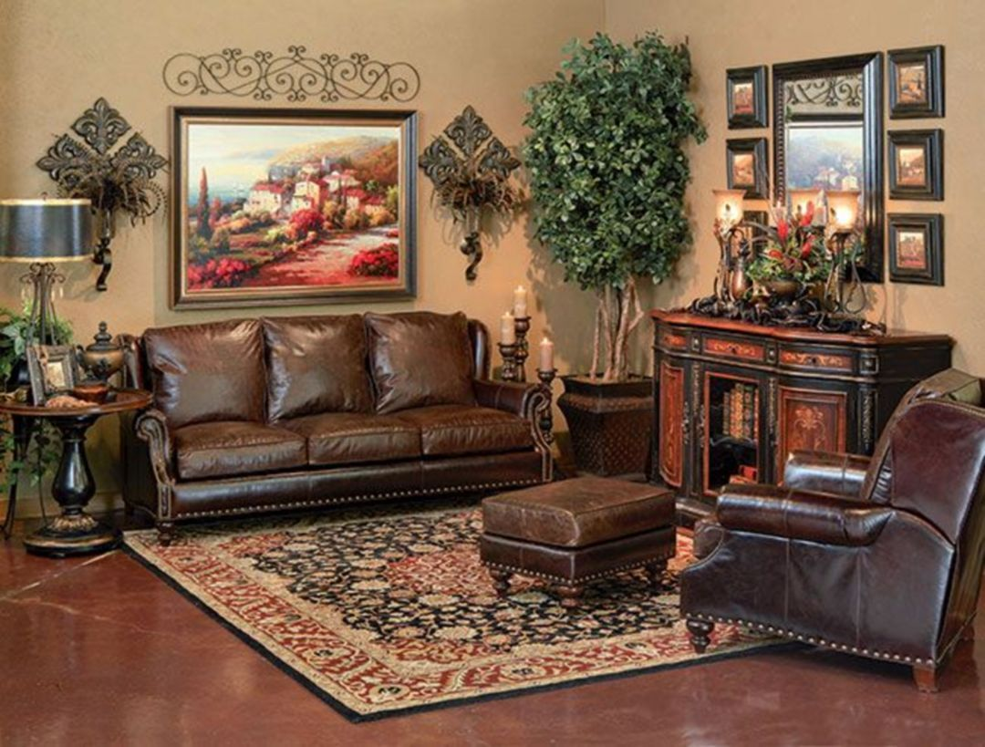 Marvelous 25 Choice Of Tuscany Living Room Decorating Ideas That Are Very Popular Https Decoretoo Com Tuscan Decorating Tuscany Decor Brown Living Room Decor Tuscan living room colors