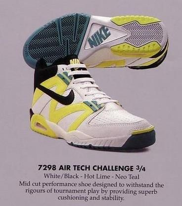 Nike tech challenge IV 1991 | Mens nike shoes, Vintage