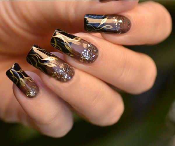 Acrylic nail designs 2015 how to take off acrylic nails unique shinning nail arts ideas for wedding fashionion prinsesfo Image collections