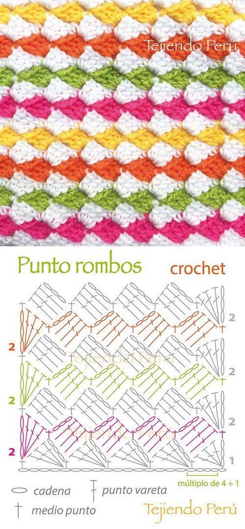 Любители вязания крючком на Блоге Настика | VK | Crochet | Pinterest ...