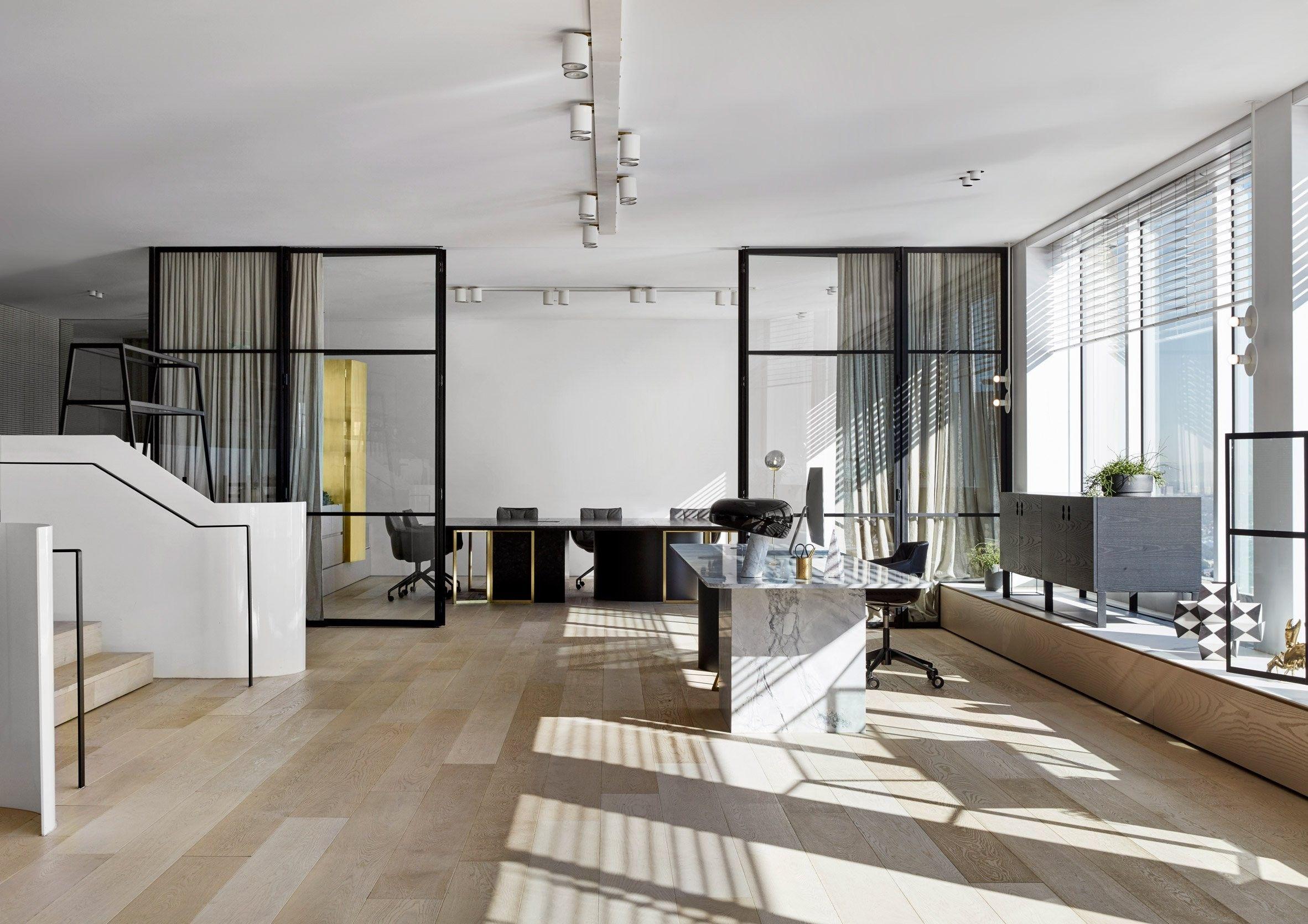 Magnifique aménagement intérieur de bureaux  Sydney par The Stella