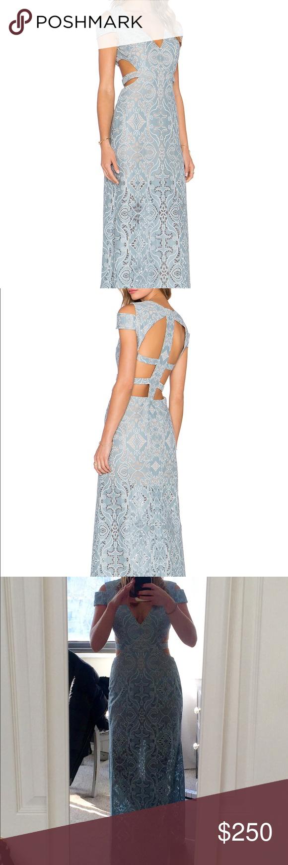 BCBGmaxazria Ava cutout gown size 2 | Ava, Bcbgmaxazria dresses and ...