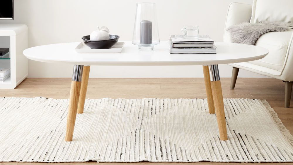 Modern Oval Coffee Table Apartment Ideas Pinterest Tables And