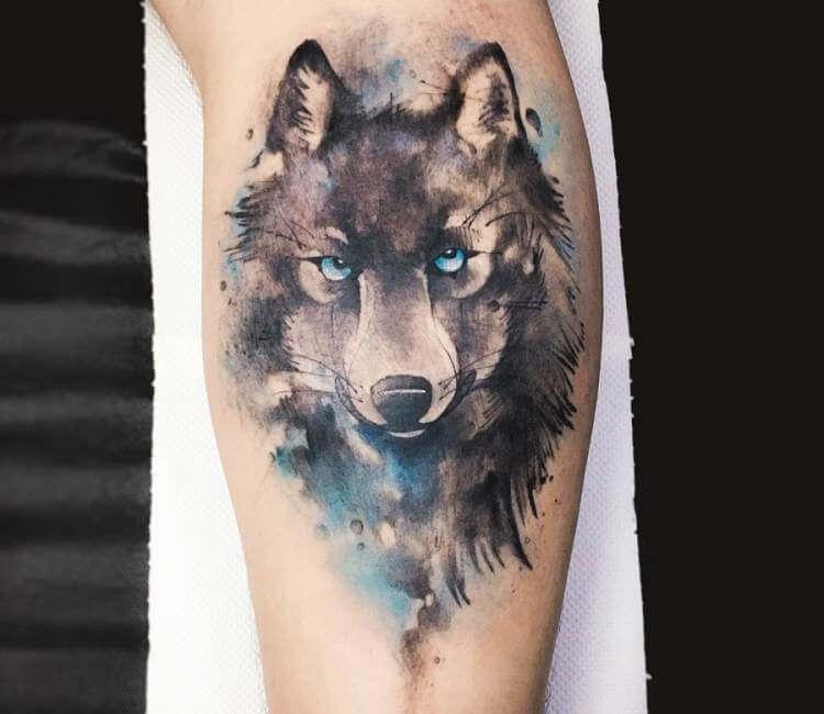 Wolf Tattoo By Dener Silva Post 18773 Wolf Tattoos Tattoos Wolf Tattoo