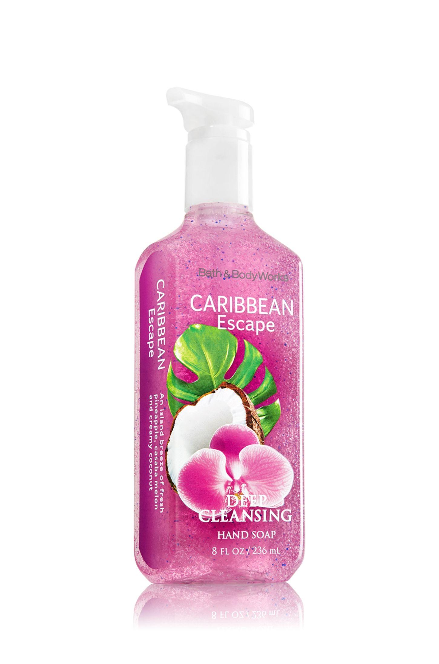 Caribbean Escape Deep Cleansing Hand Soap Soap Sanitizer Bath