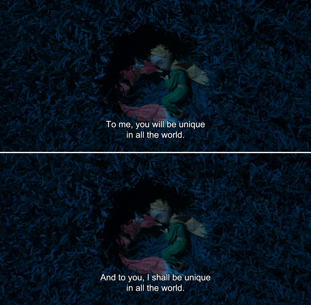 The Little Prince (2015) The Fox To me, you will be