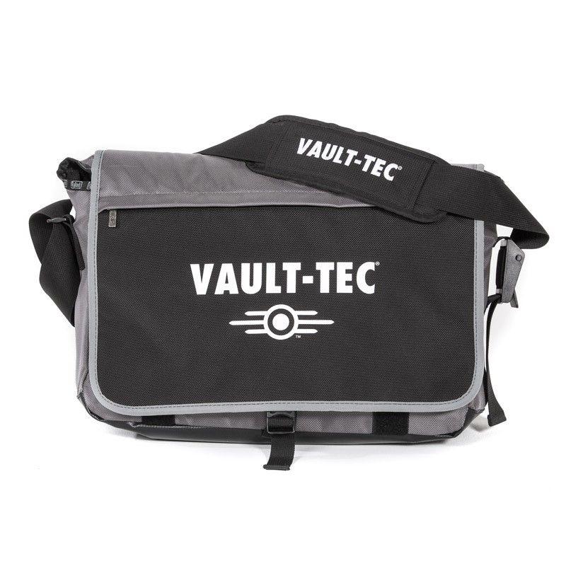 Vault-Tec Messenger Bag  Durable Nylon messenger bag Dimensions: Approximately…