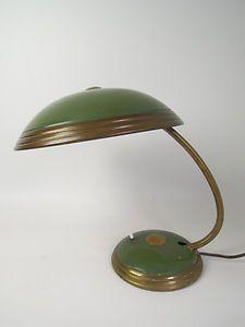 HELO BAUHAUS 1950s TABLE LAMP PANTON EAMES DANISH MODERN ATOMIC SPACE AGE UFO   eBay