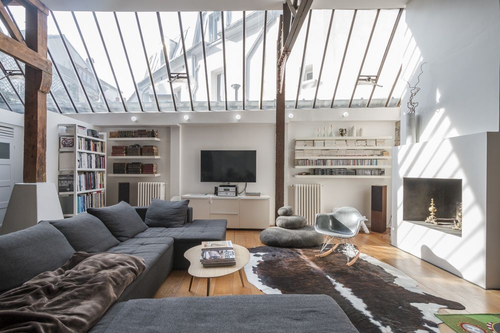 loft dans une ancienne biscuiterie bagneux plans loft z ro et ancien. Black Bedroom Furniture Sets. Home Design Ideas