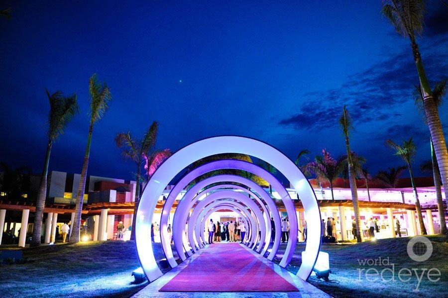 The Entrance To The Grandopening Party At Breathless Punta Cana Newresort Puntacana Punta Cana Resort Vacation Spots Tropical Breathless Resorts