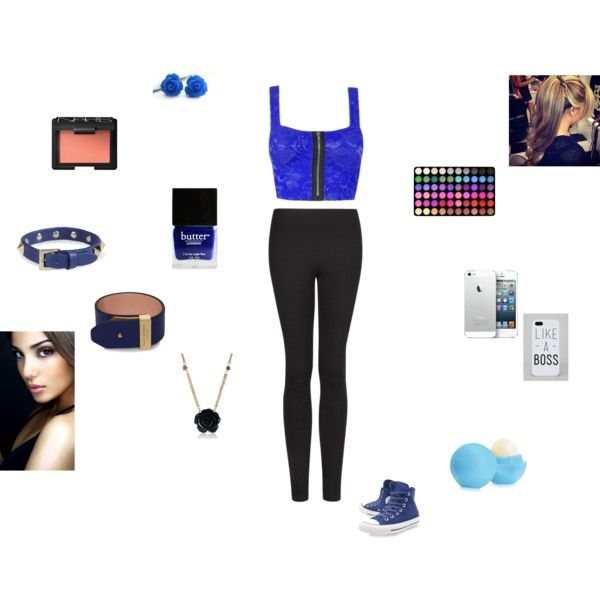 """royal blue"" by crazycookie-272 on Polyvore"