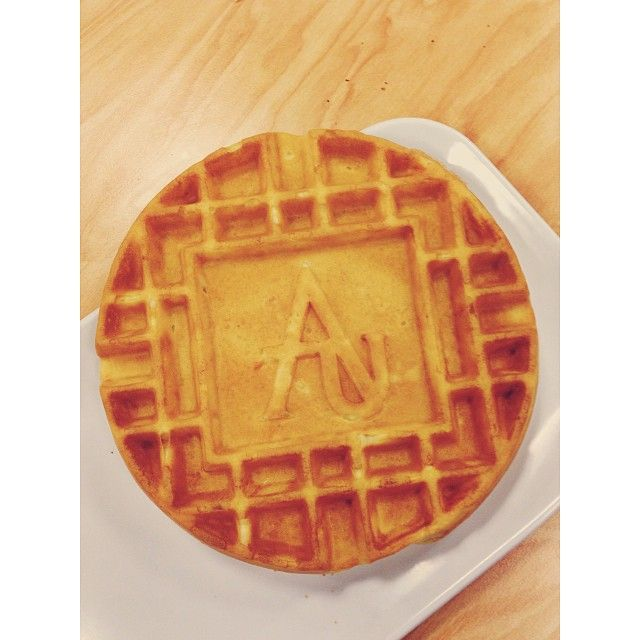 #adelphiuniversity #adelphi is stepping up their #waffle #game #awesome #au  Photo Credit @Sammy Spacone via Instagram