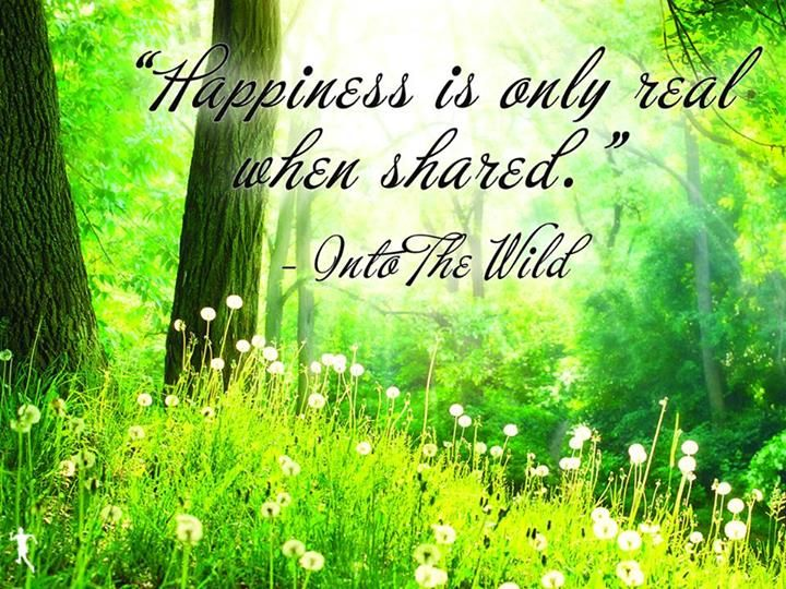 Do you share your happiness?