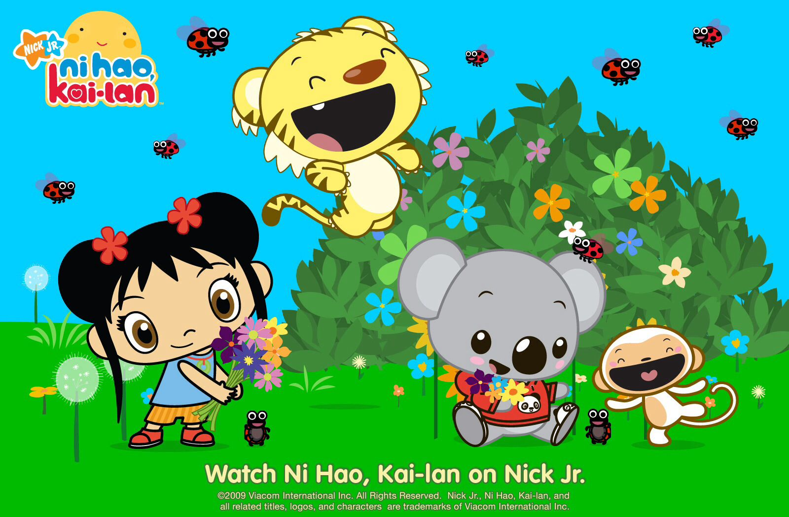 Ni Hao KaiLan Kai lan, Cartoon kids, Learn chinese