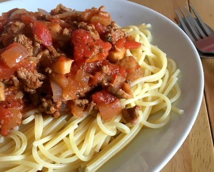 Slimming World Spaghetti Bolognese (Syn Free & Super Tasty)
