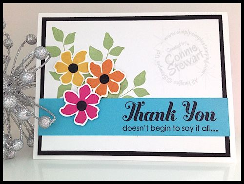 Stampin' Gals Gone Wild Weekend Challenge - April 3, 2015 - join us at www.SimplySimpleStamping.com