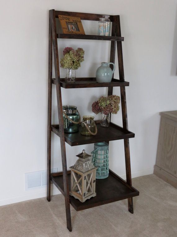 save off e2bba a2ac2 Rustic Ladder Shelves by MidAtlanticRustic on Etsy, $175.00 ...