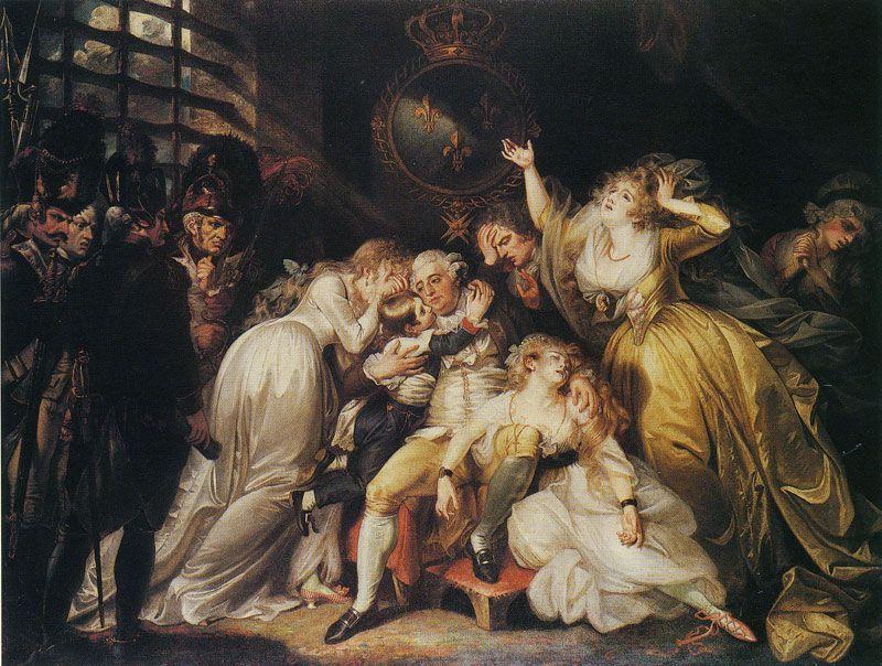 Les adieux de Louis XVI à sa famille   Louis xvi   Pinterest ...