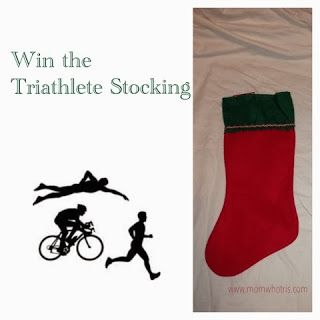 Just a Mom Who TRI's: The Triathlete Stocking (and a giveaway)