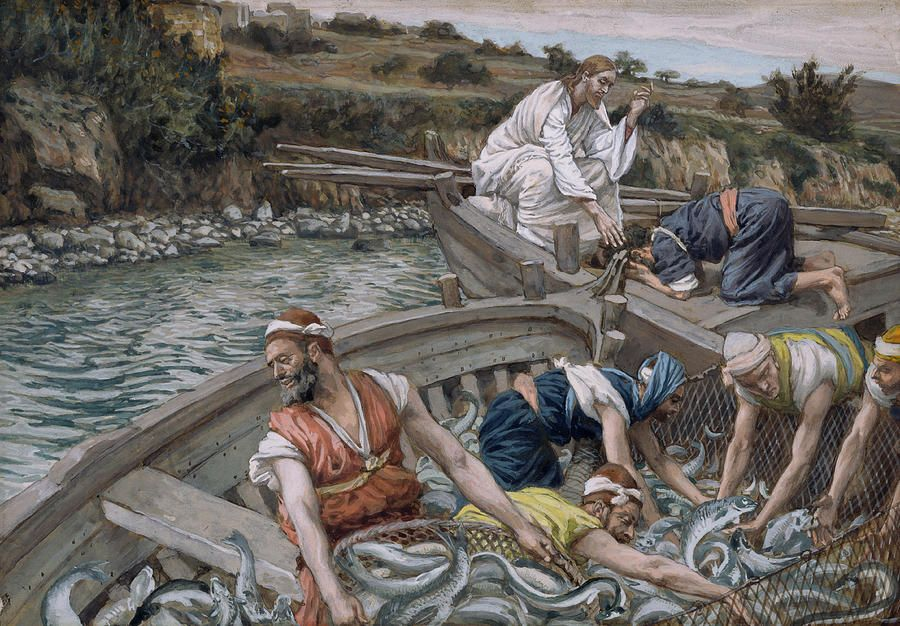 The First Miraculous Draught Of Fish Miracles of jesus
