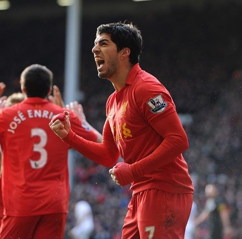 Luis Suarez And Steven Gerrard Reunited: Liverpool FC, Liverpool